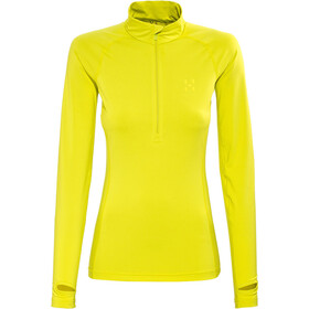 Haglöfs Intense Zip Top Damer, firefly